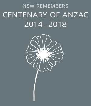 NSW Remembers - Centenary of Anzac - 2014-2018