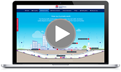 Check out our interactive portal to find out more about the project and changes to your journey.