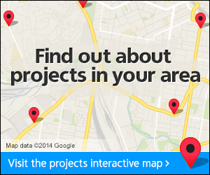 Find out about projects in you area
