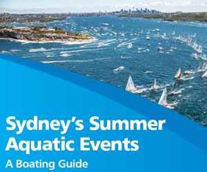 Sydney's summer aquatic avents - a boating guide