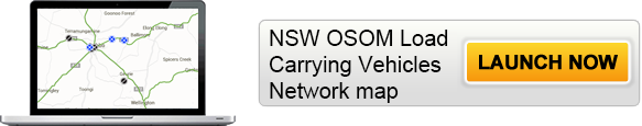 Click on the button to launch the online interactive NSW OSOM Load Carrying Vehicles Network map.