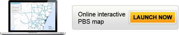 Click on the button to launch the PBS map