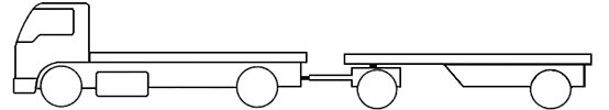 Example - image of a SR2 short combination truck