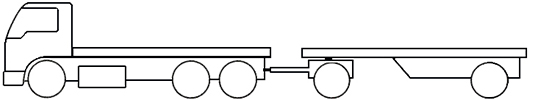 Example - image of a SR3 short combination truck