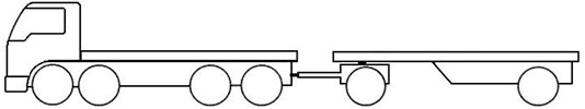 Example - image of a SR4 short combination truck
