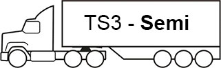 Example - image of a TS3 semi trailer attached to a prime mover