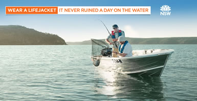 Wear a lifejacket. It never ruined a day on the water.