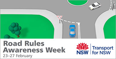 Road Rules Awareness Week - brush up on your road rules