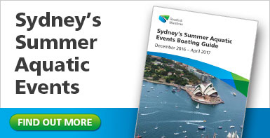 Sydney's Summer Aquatic Events Boating Guide