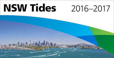 The NSW tide tables for 2015-2016 are now available for download