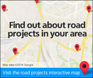 Find out about road projects in your area
