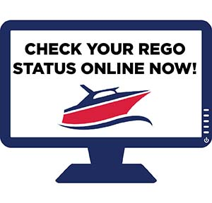 Online vessel registration check