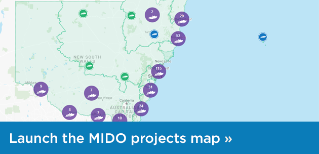 Launch the interactive projects map