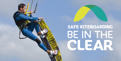 The safe kiteboarding - be in the clear campaign