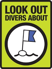 Look out - divers about