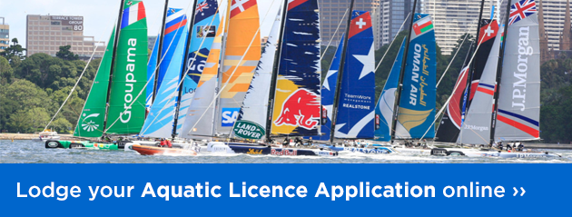 Lodge your Aquatic Licence Application online.