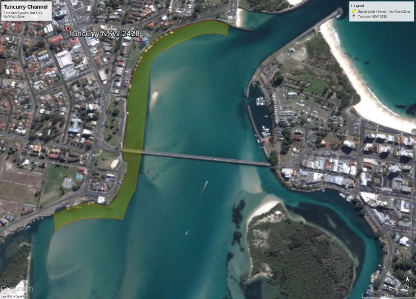 Tuncurry channel image