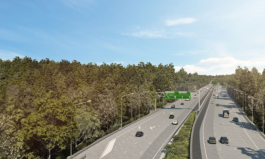 Kariong to Somersby - M1 Pacific Motorway Upgrades - Central Coast