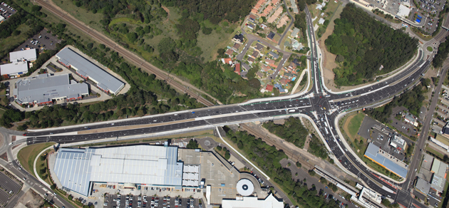 Wyong Road & Pacific Highway upgrade at Tuggerah - Pacific