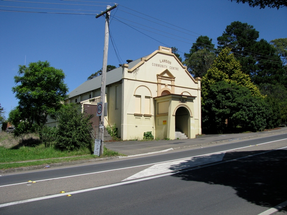 Lawson Mechanics Institute before Roads and Maritime Services restoration