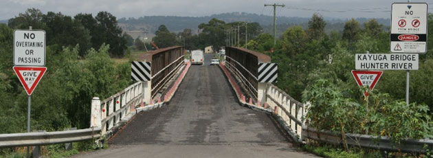 Kayuga Bridge, Muswellbrook