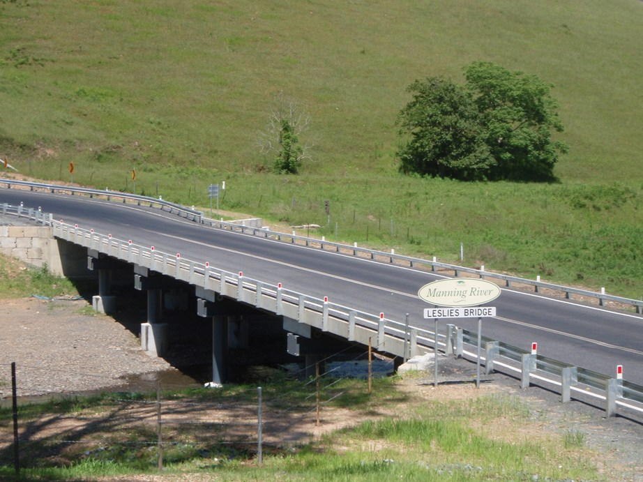 New Leslies Bridge, Manning River, Gloucester Shire replaced under Timber Bridge Partnership