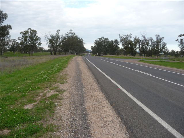 Completed intersection improvements at Redbank Road in Gunnedah Shire Council [July 2016]