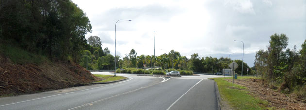 Brunswick Heads interchange