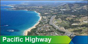 Pacific Highway upgrade
