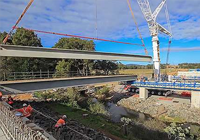 Time lapse video – Broughton Creek Bridge site number 1 – August 2015