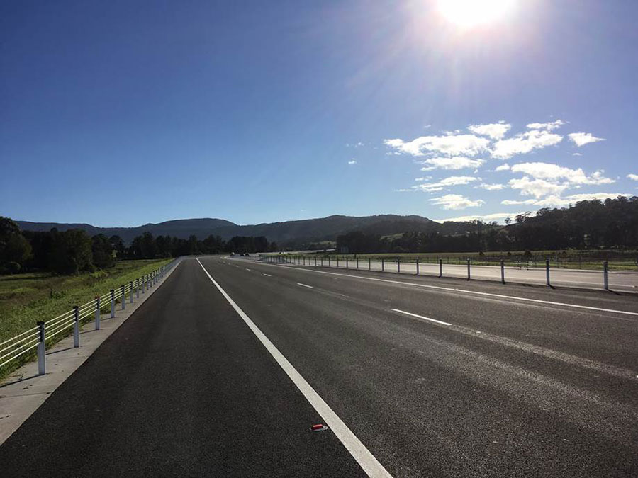 Foxground bypass open to traffic - April 2017