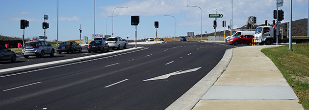 Lanyon Drive and Tompsitt Drive intersection improvements