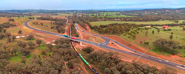 Kapooka - Olympic Highway realignment - South West NSW - Projects