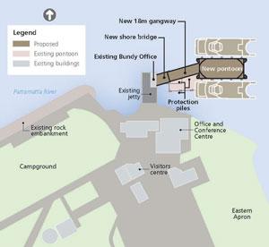 Cockatoo Island Map Site Diagram