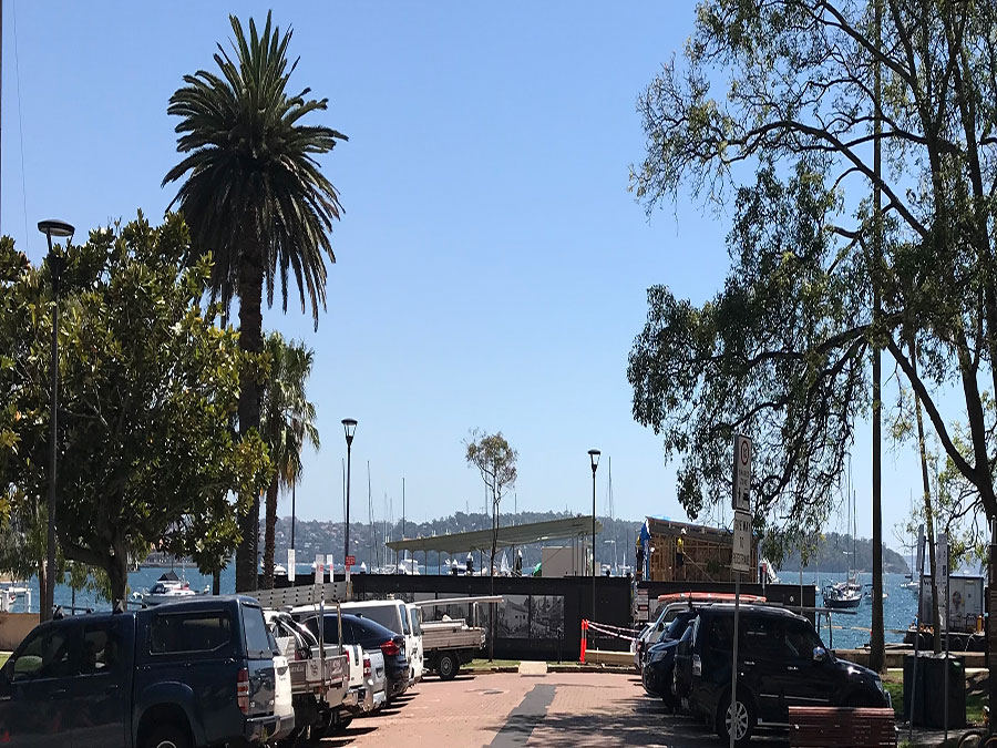 New marina being constructed
