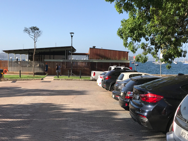 completed upgraded marina at Elizabeth Bay