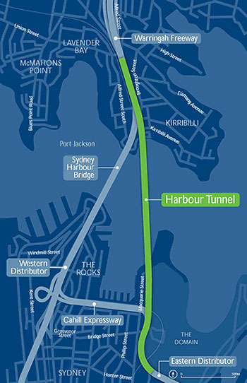 Harbour Tunnel Completed Sydney Inner Projects