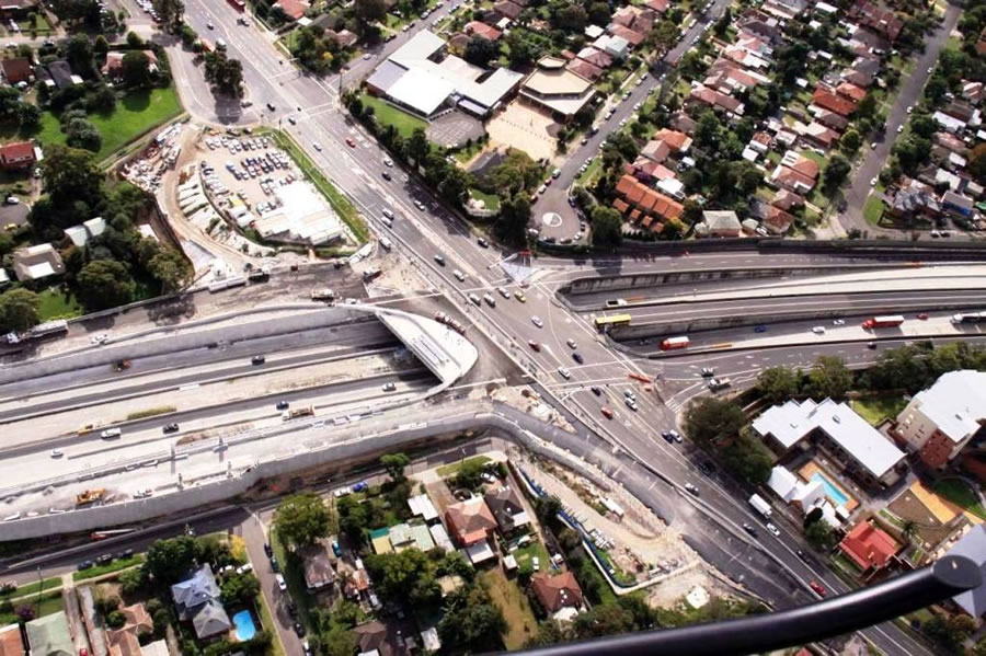 Windsor Road interchange [May 2012]