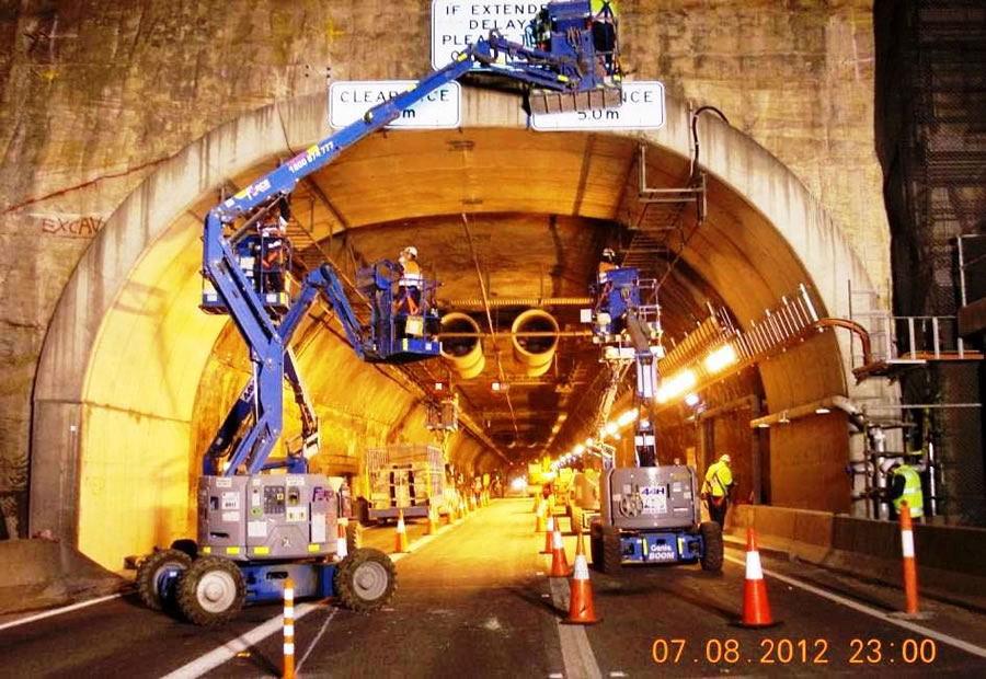 Relocation of services in WB tunnel [Sep 2012]