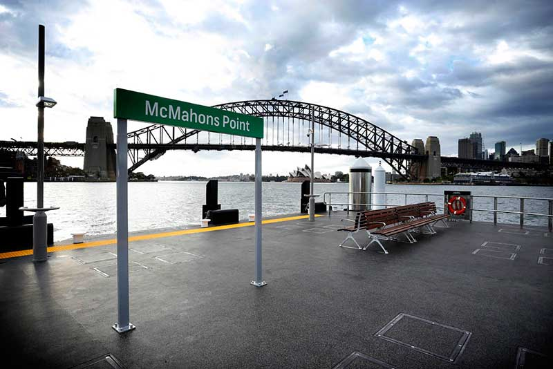 McMahons Point Wharf Upgrade