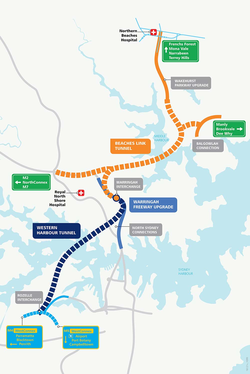 Western Harbour Tunnel  Beaches Link  Sydney North  Projects