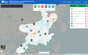 Use the online mapping tool to have your say