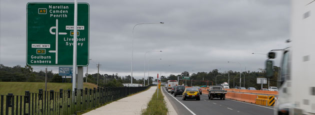 Narellan Road upgrade - Sydney West - Projects - Roads and