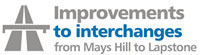 Improvements to interchanges from Mays Hill to Lapstone