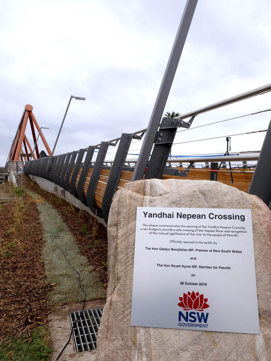 Yandhai Nepean Crossing - Sydney West - Projects - Roads and