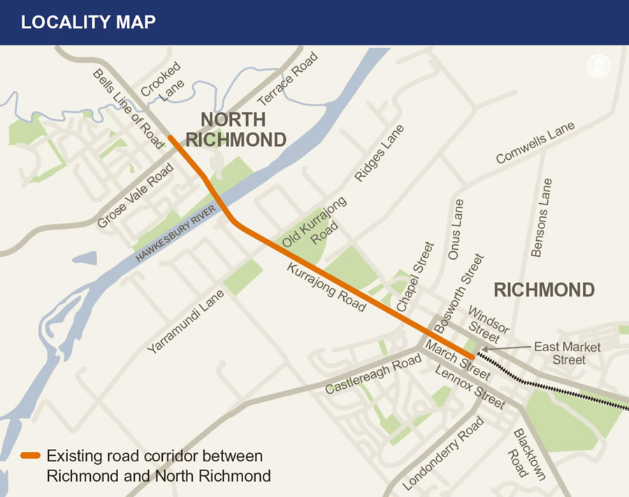 Richmond Traffic Map.Richmond Intersection Improvements Sydney West Projects Roads