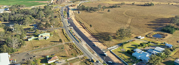 The Northern Road at the M4 Motorway, Penrith