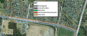 View or download a map of the Werrington Arterial - Stage 1 (PDF, 1.7MB).