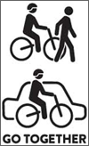 Drivers must give bicycle riders at least a metre of space