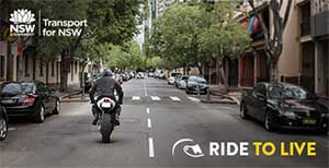 Ride to live - motorcycle safety information from the NSW Centre for Road Safety